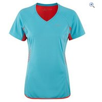 Ronhill Aspiration S/S Womens Running Top - Size: 14 - Colour: Lilac Blue