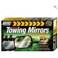 Maypole Convex Towing Mirrors (Pair)