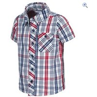 Trespass Kids Clifford Shirt - Size: 7-8 - Colour: TWILIGHT CHECK