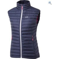 Rab Womens Microlight Vest - Size: 16 - Colour: Twilight Blue