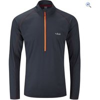 Rab Mens Interval Long Sleeve Tee - Size: M - Colour: Black