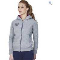 Just Togs Womens Highgrove Hoody - Size: L - Colour: Grey
