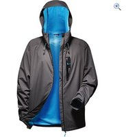 OEX Roq 2-Layer Mens Waterproof Jacket - Size: XXXL - Colour: Charcoal-Black