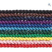Cottage Craft Cotton Lead Rope - Colour: Red