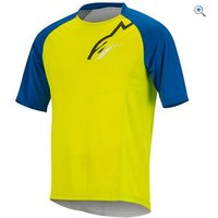 Alpinestars Trailstar Ss Jersey - Size: S - Colour: Green-blue
