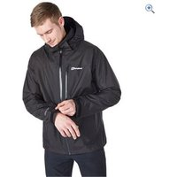 Berghaus Mens Island Peak Jacket - Size: S - Colour: DARK GREY-BLACK