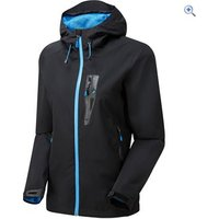 OEX Roq 2-Layer Womens Waterproof Jacket - Size: 12 - Colour: Black
