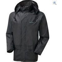 Freedom Trail Essential Waterproof Jacket (Unisex) - Size: XL - Colour: Black