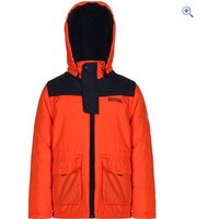 Regatta Kids Zipper Jacket - Size: 5-6 - Colour: Orange