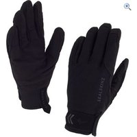 SealSkinz Mens Dragon Eye Road Glove - Size: S - Colour: Black