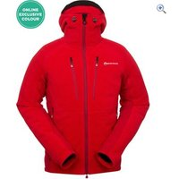 Montane Mens Volt Alpiniste Jacket - Size: L - Colour: SEDONA RED