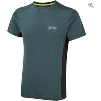 North Ridge Mens Resistance Short Sleeve Baselayer - Size: S - Colour: Teal