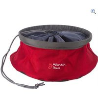 Mountain Paws Dog Food Bowl (Large) - Colour: Red