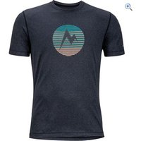 Marmot Mens Transporter Tee - Size: XXL - Colour: BLACK HEATHER
