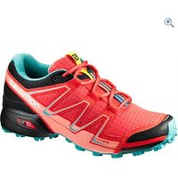 Salomon Womens Speedcross Vario Running Shoe - Size: 5 - Colour: Red