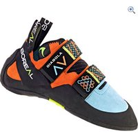 Boreal Diabola Womens Climbing Shoe - Size: 4 - Colour: Blue-Orange