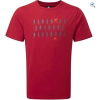 Mountain Equipment Mens Rebel Tee - Size: XL - Colour: Red