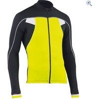 Northwave Sonic Long Sleeve Jersey - Size: M - Colour: Yellow- Black