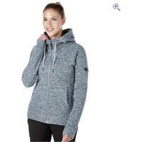 Berghaus Womens Easton Fleece Jacket - Size: 12 - Colour: Light Grey