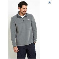Weird Fish Rawn Honeycomb 1/4 Zip Soft Knit Top - Size: M - Colour: Grey