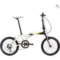 Compass Fast Forward Folding Bike - Colour: White And Black