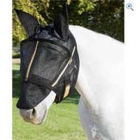 Noble Outfitters Guardsman Fly Mask with Ears - Size: M - Colour: Black
