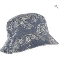 Weird Fish Cleethorpes Printed Reversible Bucket Hat - Colour: Navy