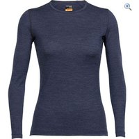 Icebreaker Womens Oasis Long Sleeve Crewe - Size: S - Colour: FATHOM