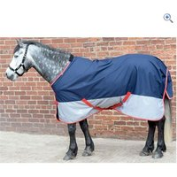 Masta Avante Light Turnout Rug - Size: 5-3 - Colour: Navy-Grey