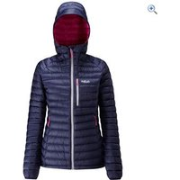 Rab Womens Microlight Alpine Long Jacket - Size: 16 - Colour: Twilight Blue