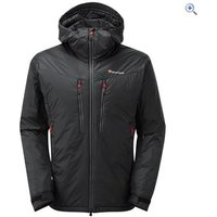 Montane Mens Flux Jacket - Size: XL - Colour: Black / Red