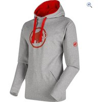 Mammut Mens ML Logo Hoody - Size: M - Colour: GRANIT SPICY