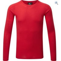 North Ridge Mens Convect-200 Merino LS Top - Size: L-XL - Colour: Chinese Red
