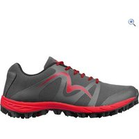 More Mile Mens Cheviot 4 Trail Running Shoes - Size: 9 - Colour: GREY RED