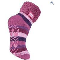 Heat Holders Ladies Lounge Socks - Colour: MUTED PINK