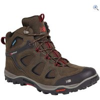 Karrimor Mens Toledo Mid Weathertite Walking Boots - Size: 8 - Colour: Black / Red