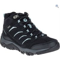 Merrell Womens White Pine Mid Vent Waterproof Boots - Size: 8 - Colour: Black