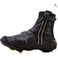 SealSkinz Lightweight Halo Overshoes - Size: L - Colour: Black / Red