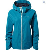 Craghoppers Womens Apex Waterproof Jacket - Size: 18 - Colour: FOREST TEAL
