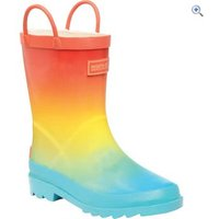 Regatta Minnow Junior Welly - Size: 3 - Colour: BLUE OMBRE