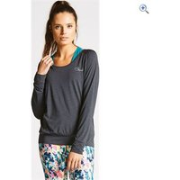 Dare2b Womens Overt Long Sleeve Top - Size: 16 - Colour: CHARCOAL GREY