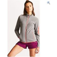 Dare2b Womens Perimeter Fleece - Size: 14 - Colour: ASH GREY MARL