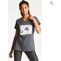 Dare2b Womens Amora Tee - Size: 16 - Colour: EBONY GREY