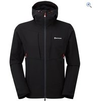 Montane Mens Dyno Stretch Jacket - Size: XL - Colour: Black / Red