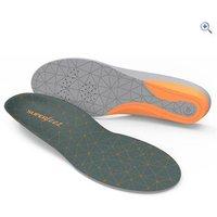Superfeet FLEXmid Insole (4mm) - Size: D - Colour: Orange