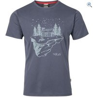 Rab Mens Stance Tee - Size: XXL - Colour: Steel Grey