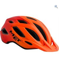 Met Crossover Helmet (M) - Colour: Orange