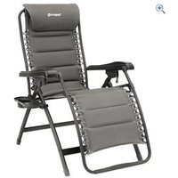 Outwell Acadia Signature Lounger - Colour: Charcoal