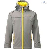 Hi Gear Switch Childrens Softshell Hoody - Size: 9-10 - Colour: CLOUD-GOLDEN