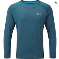 North Ridge Mens Resistance Long Sleeve Baselayer - Size: XXL - Colour: SEAPORT